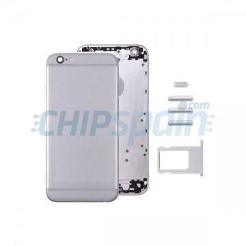 Carcasa Trasera Completa iPhone 6 Plus Gris Espacial