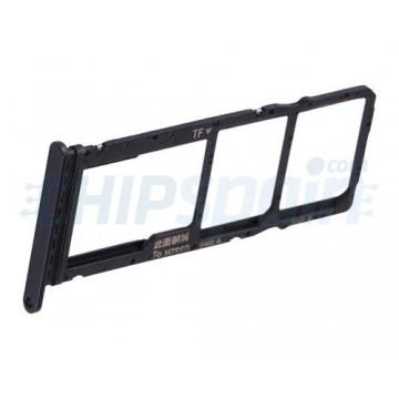 Tabuleiro para cartão SIM e Micro SD Huawei P40 Lite E Preto