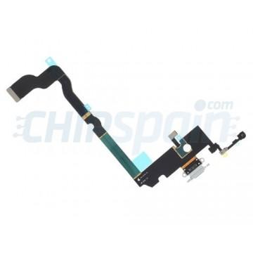 Cable Flex Conector Carga y Micrófono iPhone Xs Max Gris