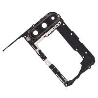 Carcasa Intermedia de Cámara Huawei P40 Lite E Negra