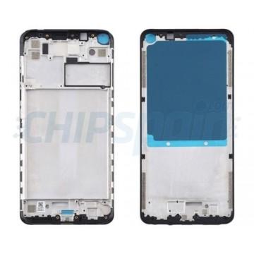 LCD Screen Moldura Frontal Xiaomi Redmi Note 9 Preto