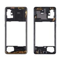 Marco Central Intermedio Samsung Galaxy A71 A715 Negro