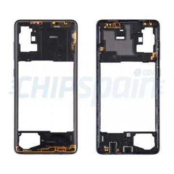 Quadro Central Intermediário Samsung Galaxy A71 A715 Preto