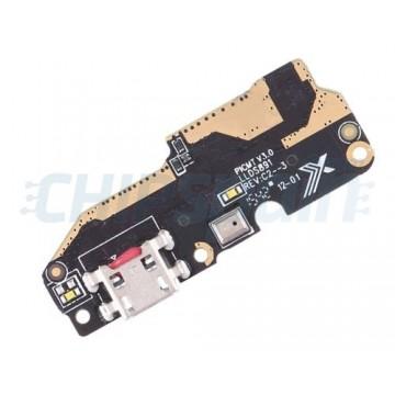 Placa con Conector Carga Micro USB y Micrófono BQ Aquaris X5