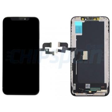 Ecrã Tátil Completo iPhone XS A2097 TFT Preto