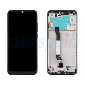 Ecrã Tátil Completo Xiaomi Redmi Note 8 Preto com Marco