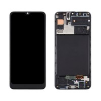 LCD Screen + Touch Screen Digitizer Samsung Galaxy A30s A307 TFT with Frame Black