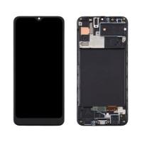 Pantalla Samsung Galaxy A30s A307 TFT Completa con Marco Negro