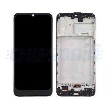 Pantalla Samsung Galaxy M21 M215 TFT Completa con Marco Negro