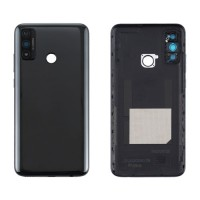 Battery Back Cover Huawei P Smart 2020 with Lens Black