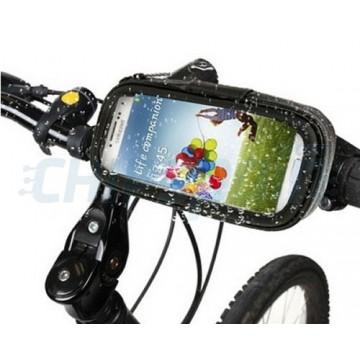 Funda Movil Bici Universal Impermeable con Soporte