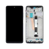 LCD and Digitizer Full Assembly with Frame Xiaomi Poco X3 / Poco X3 NFC Black