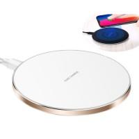 Base de Carga Wireless Rapida Celular iPhone Branco