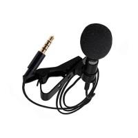 Microfone Lavalier com Cabo para Telemóveis