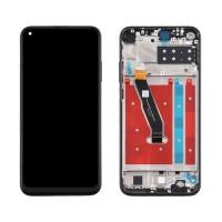 Ecrã Táctil Completo com Marco Huawei P40 Lite E Preto