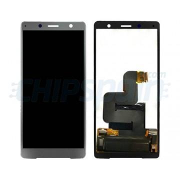 Ecrã Tátil Completo Sony Xperia XZ2 Compact Preto