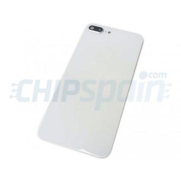 Vidro traseiro iPhone 8 Plus Bateria Branco com Lente