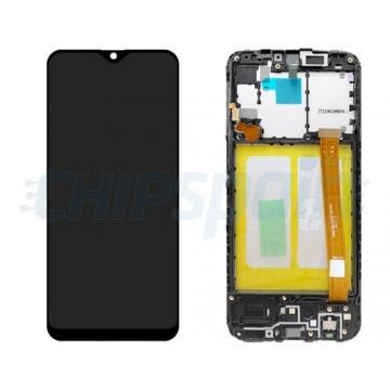 Pantalla Samsung Galaxy A20e A202 Premium Completa con Marco Negro