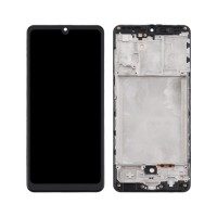 LCD Screen + Touch Screen Digitizer Samsung Galaxy A31 A315 TFT with Frame Black