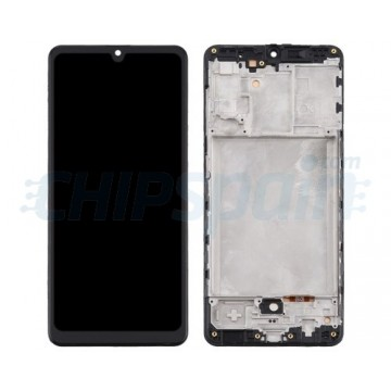 Pantalla Samsung Galaxy A31 A315 TFT Completa con Marco Negro