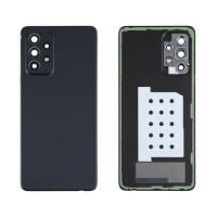 Capa Traseira Bateria Samsung Galaxy A52 A525 / A52 5G A526 com Lente Preto