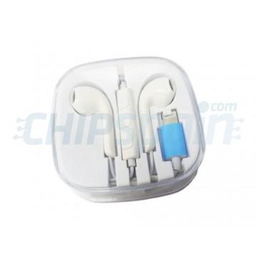 Auriculares iPhone iPad Smartphone Lightning Blanco