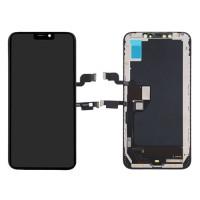 Ecrã Tátil Completo iPhone XS Max A2101 TFT Preto