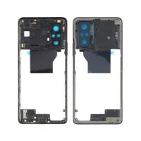 Quadro Central Intermediário Xiaomi Redmi Note 10 Pro / Xiaomi Redmi Note 10 Pro Max Preto