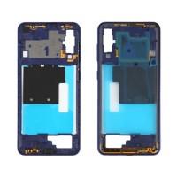 Intermediate Central Framework Samsung Galaxy A60 A606 Blue
