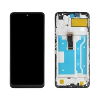 Ecrã Tátil Completo com Marco Huawei P Smart 2021 Preto