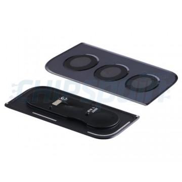 Embellecedor y Lente Cámara Trasera Samsung Galaxy S21 5G G991 Negra