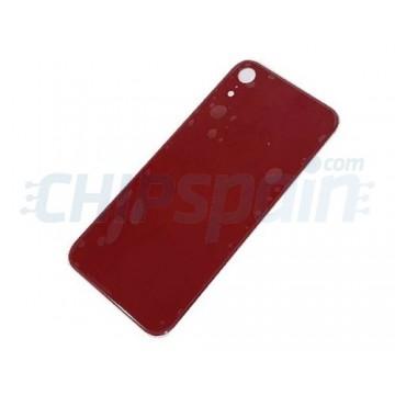 Vidro traseiro iPhone XR A2105 Bateria Vermelho