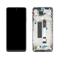 Ecrã Tátil Completo com Marco Xiaomi Redmi Note 9 Pro 5G / Mi 10T Lite 5G Azul