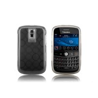 Funda Silicona Bubble BB Bold 9000 -Negro