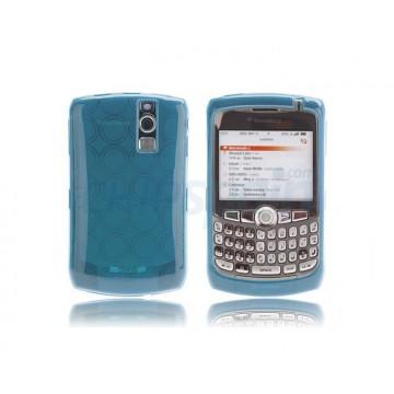 Silicon Case Bubble BB 83xx -Blue