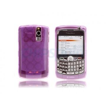 Silicon Case Bubble BB 83xx -Purple
