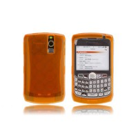 Funda Silicona Bubble BB 83xx -Naranja