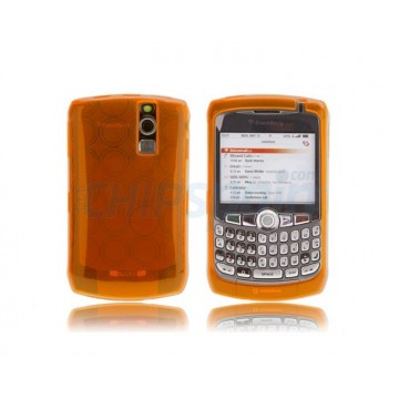 Funda Silicona Bubble BB 83xx -Naranja