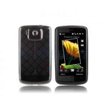 Funda Silicona Square HTC Touch HD -Negro