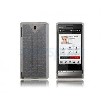 Funda Silicona Cubic HTC Diamond 2 -Negro