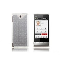 Funda Silicona Cubic HTC Diamond 2 -Blanco