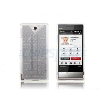 Funda Silicona Cubic HTC Diamond 2 -White