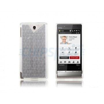 Silicon Case Cubic HTC Diamond 2 -White