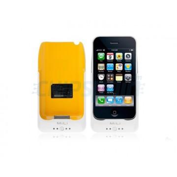 Carcaça da bateria Mili Power 2000mAh iPhone 3G/3GS -Branco