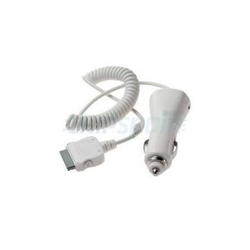 Car Adapter Charger 30 PIN iPhone/iPad/iPod -White