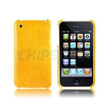 Carcaça Reptile Series iPhone 3G/3GS -Amarela