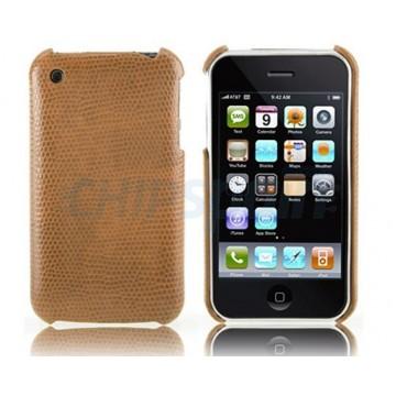 Carcasa Reptile Series iPhone 3G/3GS -Marrón
