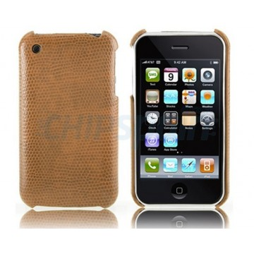 Reptile Series Case iPhone 3G/3GS -Brown