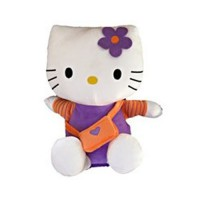 Hello Kitty: Peluche Bolso Naranja