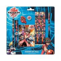 Bakugan: Blister Papeleria 12 piezas
